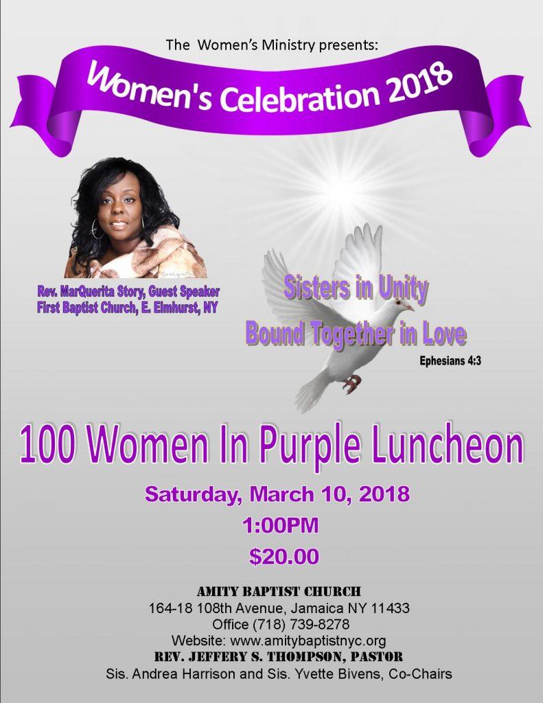 100 women flyer 2017