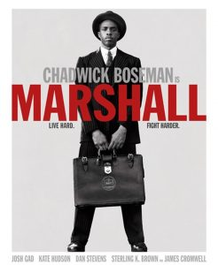 chadwick boseman is Marshall. Free showing at amity baptist church