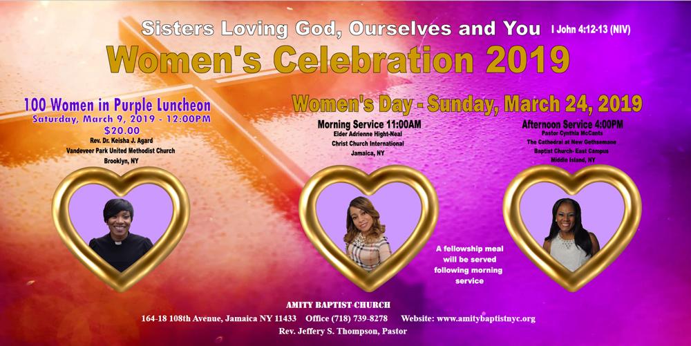 Women's Day – Amity Baptist Church – Jamaica NY 11433