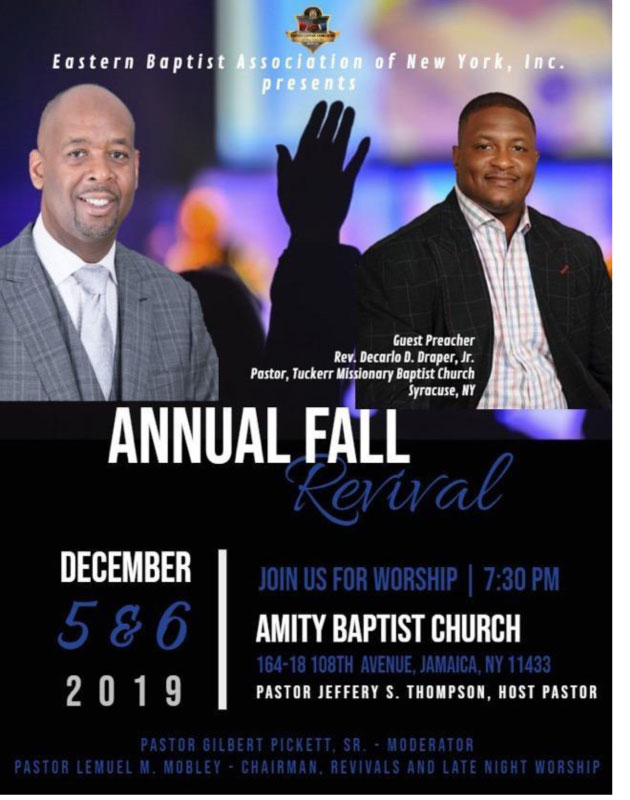 Annual Fall Revival