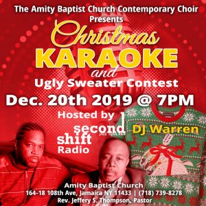 2019 Christmas Karaoke and Ugly Sweater Contest