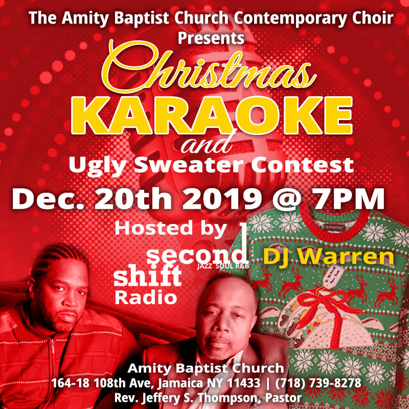 2019 Christmas Karaoke and Ugly Sweater Contest
